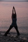 Yoga Pictures on Beach of Amy 037