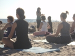 Borrowed Time - zach's sax - PA visit - Beach Yoga 106