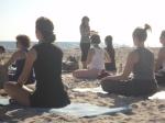 Borrowed Time - zach's sax - PA visit - Beach Yoga 106