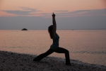 Yoga Pictures on Beach of Amy 004
