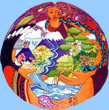 mother earth globe
