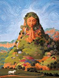 mother earth namaste