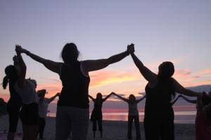 Beach yoga2