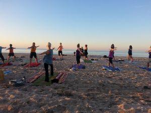 Beach Yoga with Michael