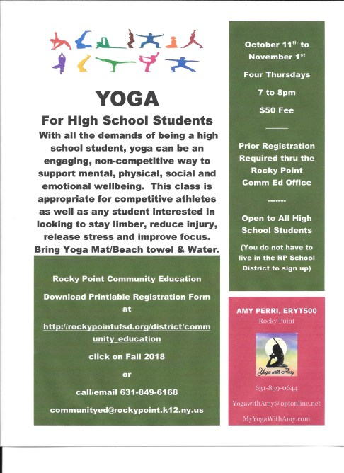 PDF Yoga for High School 2018