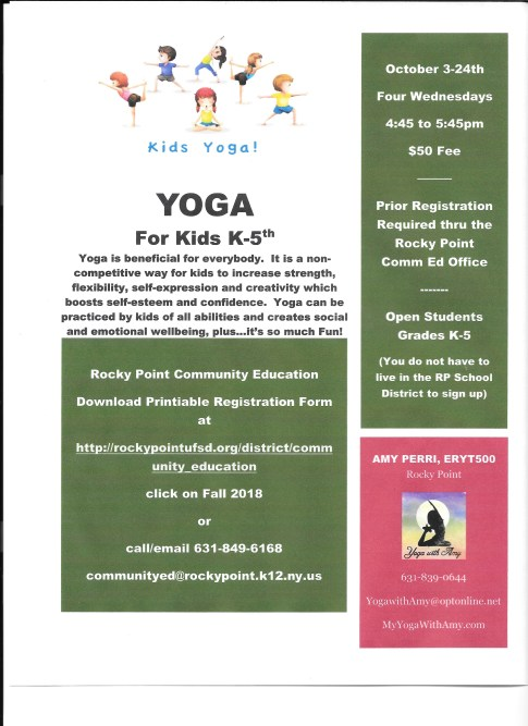 PDF Yoga for Kids 2018