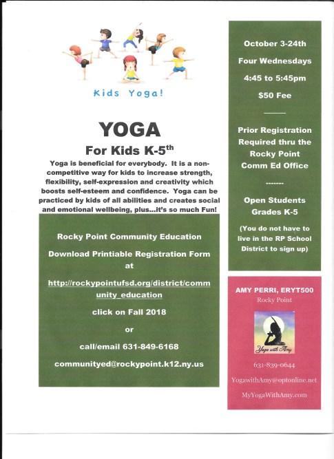 PDF Yoga for Kids 2018