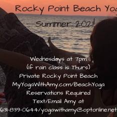 2021 Beach Yoga